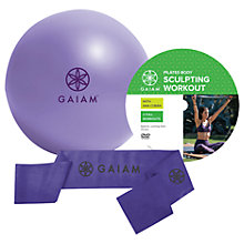 Buy Gaiam Beginners Pilates Kit, Purple Online at johnlewis.com