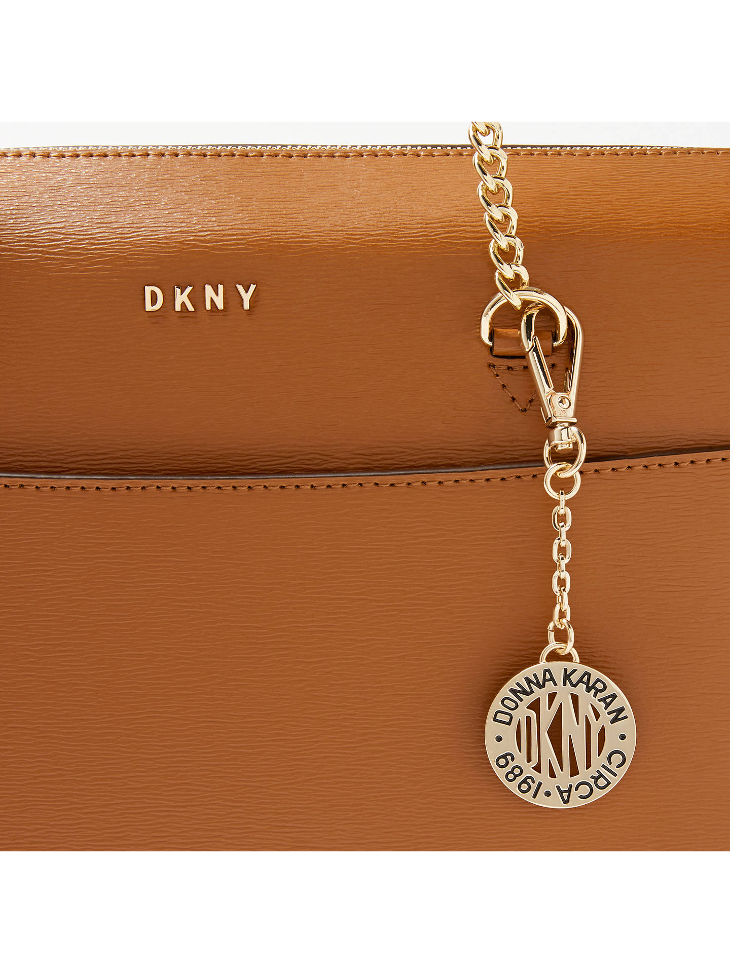 DKNY Sutton Textured Leather Tote Bag at John Lewis & Partners
