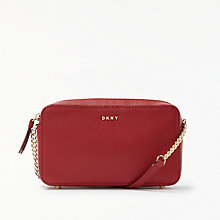 Buy DKNY Chelsea Pebbled Leather Cross Body Bag Online at johnlewis.com