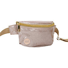 Buy Mi-Pac Glitter Bum Bag, Champagne Online at johnlewis.com