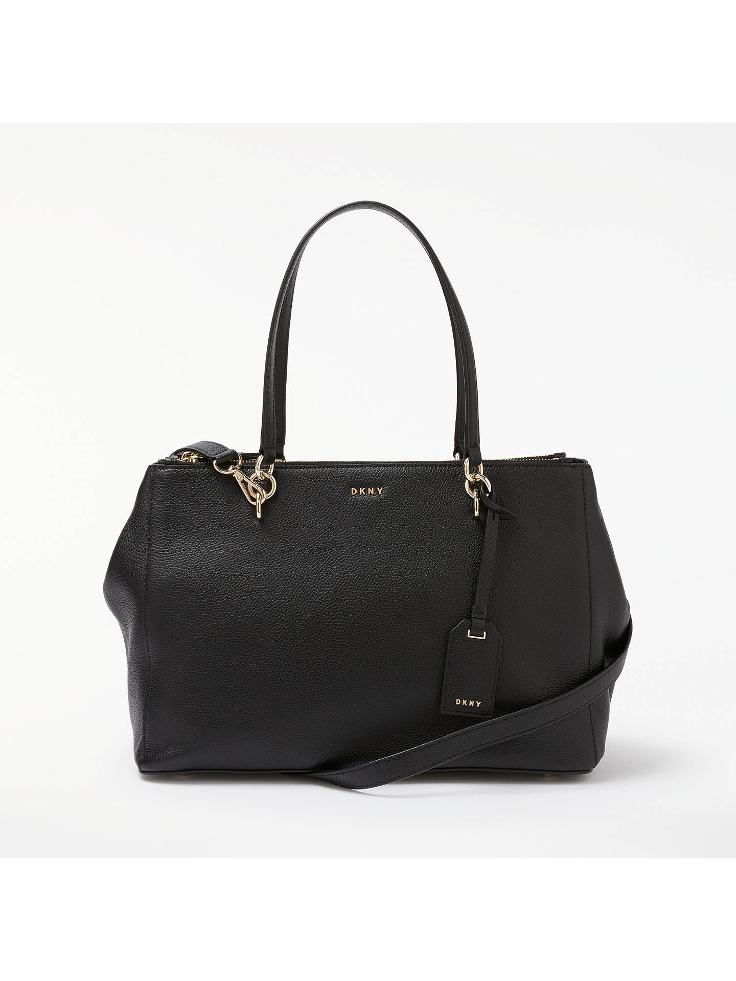 dkny leather bag review