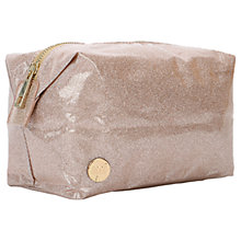 Buy Mi-Pac Glitter Wash Bag, Champagne Online at johnlewis.com