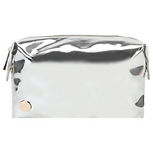 Buy Mi-Pac Mirrored Wash Bag, Silver Online at johnlewis.com