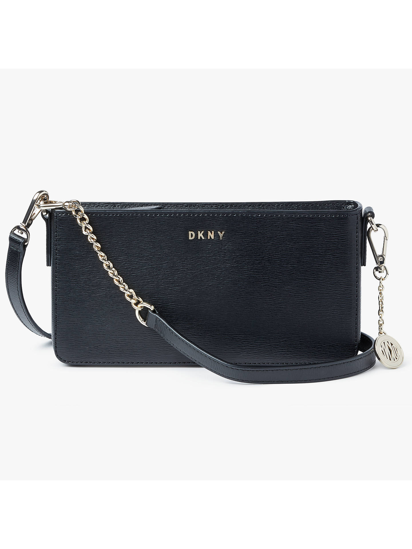3da380167b0 DKNY Sutton Leather Small Cross Body Bag at John Lewis   Partners