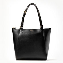 Buy DKNY Saddle Sutton Medium Leather Tote Bag Online at johnlewis.com