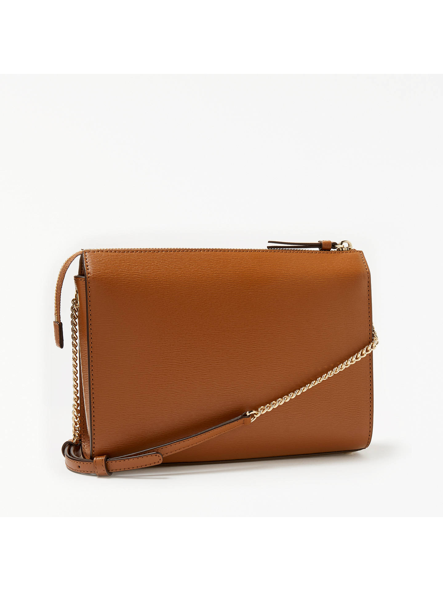 DKNY Sutton Textured Leather Small Cross Body Bag at John