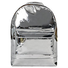 Buy Mi-Pac Mini Mirror Backpack, Silver Online at johnlewis.com