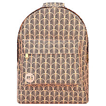 Buy Mi-Pac Art Deco Backpack, Peach Online at johnlewis.com