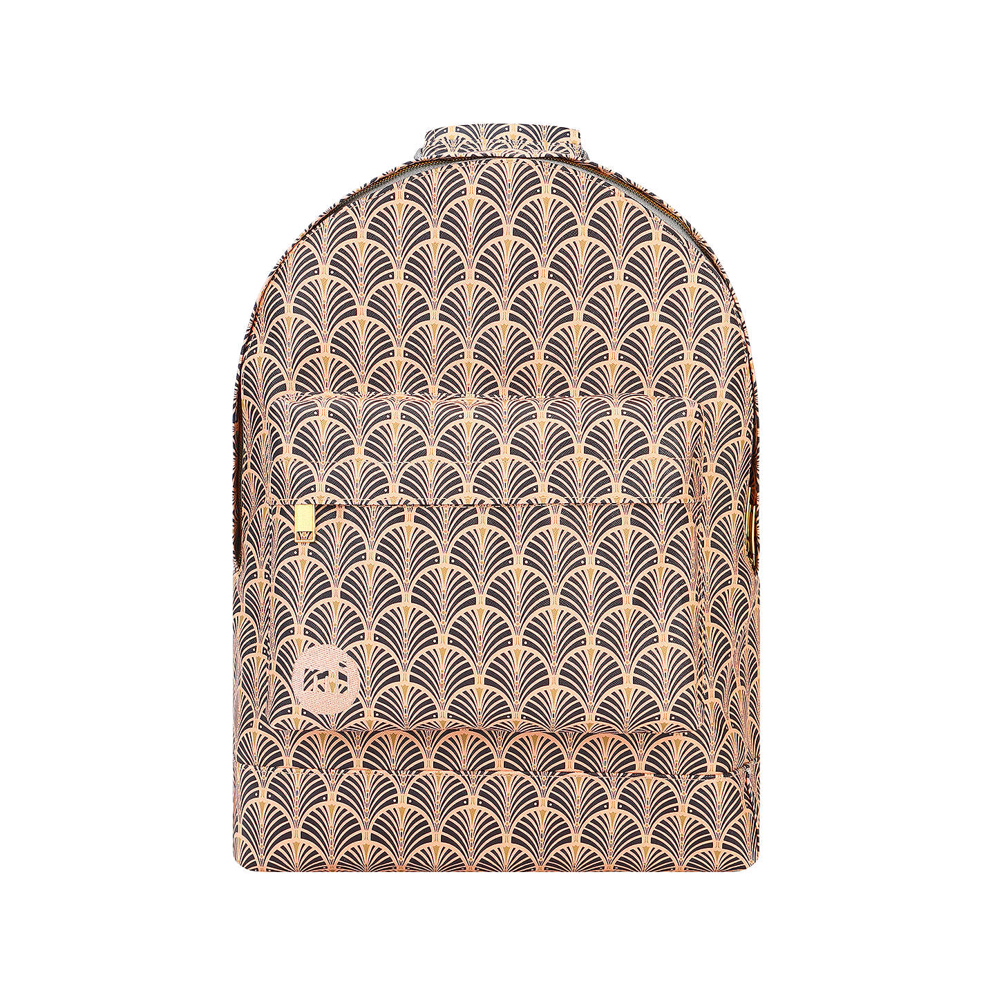 Buymi Pac Art Deco Backpack, Peach Online At Johnlewiscom