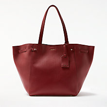 Buy DKNY Chelsea Pebbled Leather Large Tote Bag Online at johnlewis.com