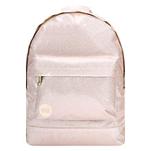 Buy Mi-Pac Glitter Backpack, Champagne Online at johnlewis.com