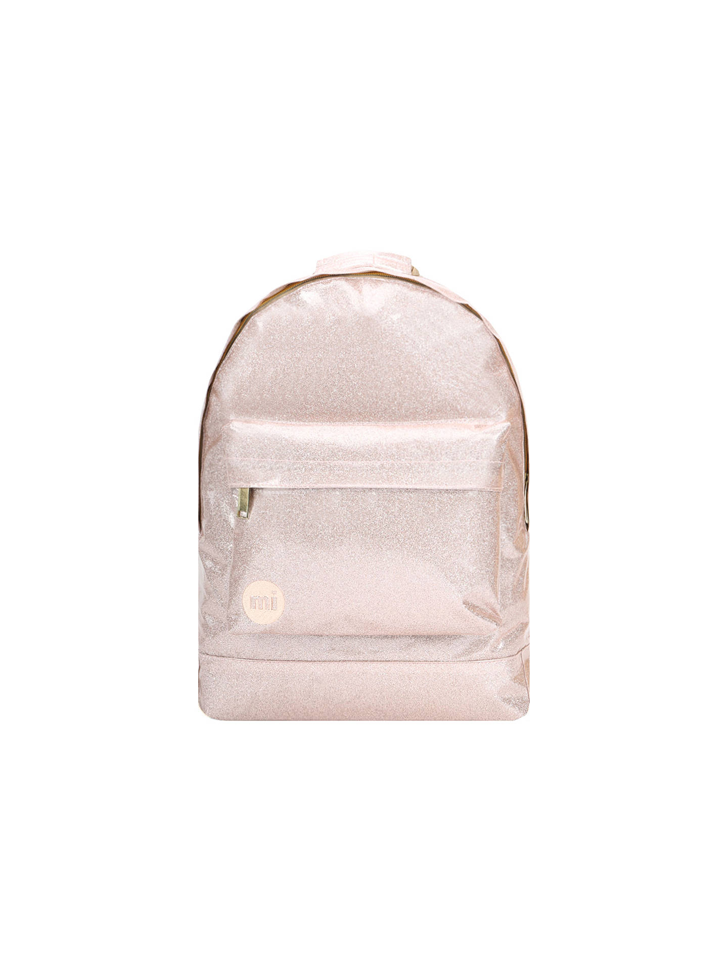 BuyMi-Pac Glitter Backpack, Champagne Online at johnlewis.com
