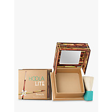 Buy Benefit Hoola Lite Bronzer, Natural Online at johnlewis.com