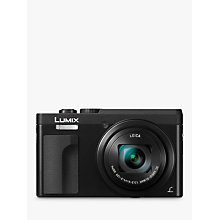 "Buy Panasonic LUMIX DMC-TZ90 Super Zoom Digital Camera, 4K Ultra HD, 20.3MP, 30x Optical Zoom, Wi-Fi, EVF, 3"" LCD Tiltable Touch Screen Online at johnlewis.com"