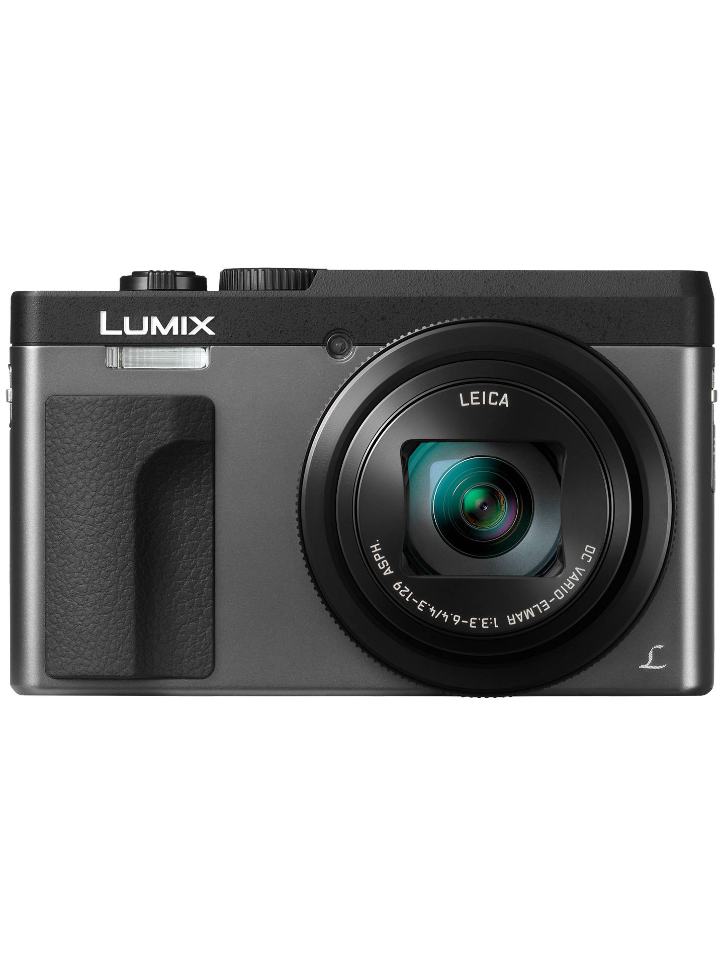 "BuyPanasonic LUMIX DC-TZ90 Super Zoom Digital Camera, 4K Ultra HD, 20.3MP, 30x Optical Zoom, Wi-Fi, EVF, 3"" LCD Tiltable Touch Screen, Silver Online at johnlewis.com"