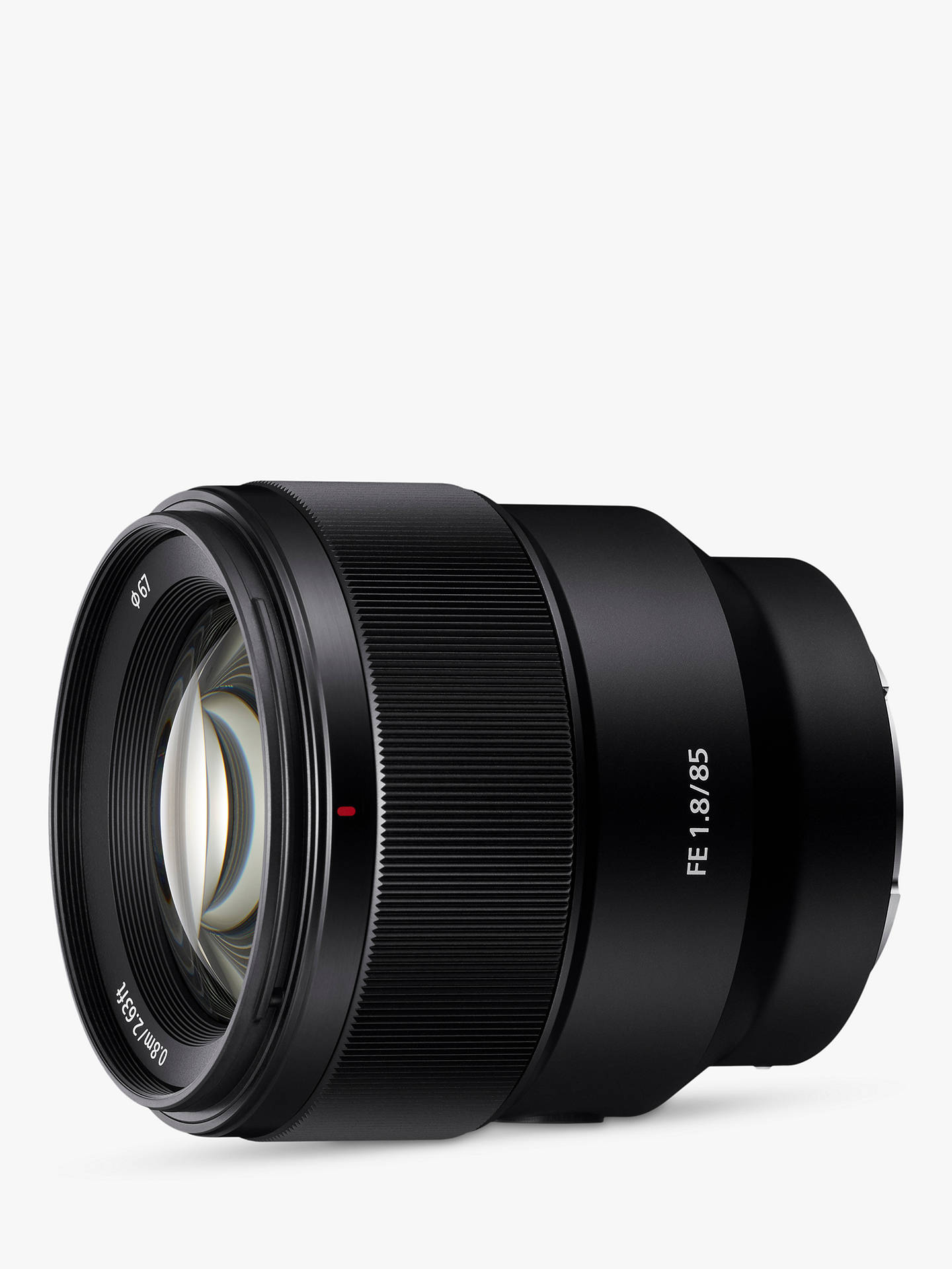 Buy Sony SEL85F18 FE 85mm f/1.8 Telephoto Lens Online at johnlewis.com