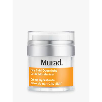 Image of Murad City Skin Overnight Detox Moisturiser, 50ml