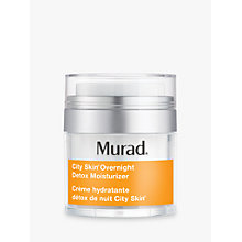 Buy Murad City Skin Overnight Detox Moisturiser, 50ml Online at johnlewis.com