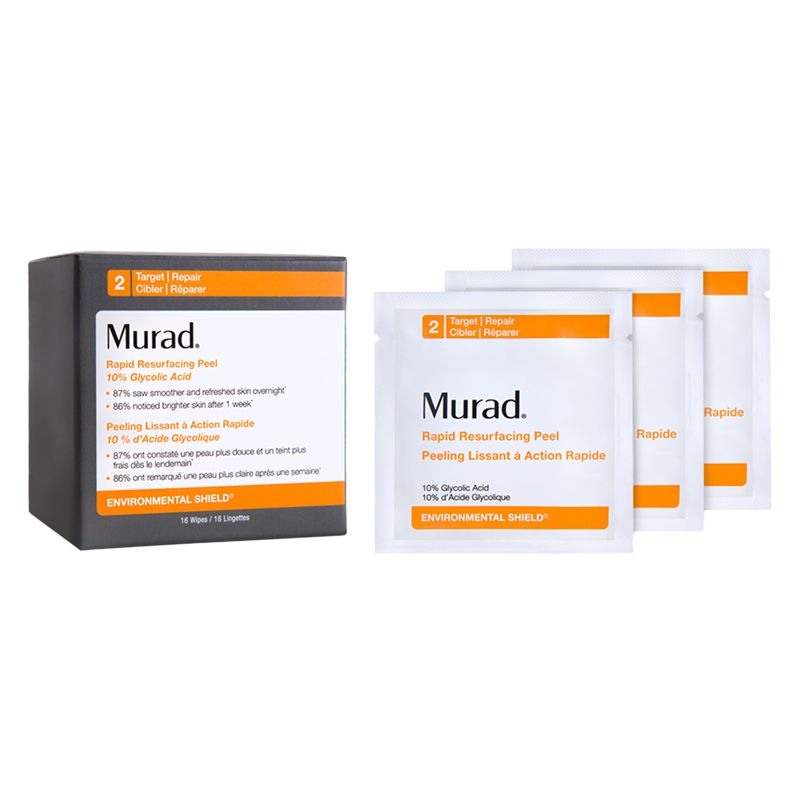 Murad Murad Rapid Resurfacing Peel Towelettes, x 16