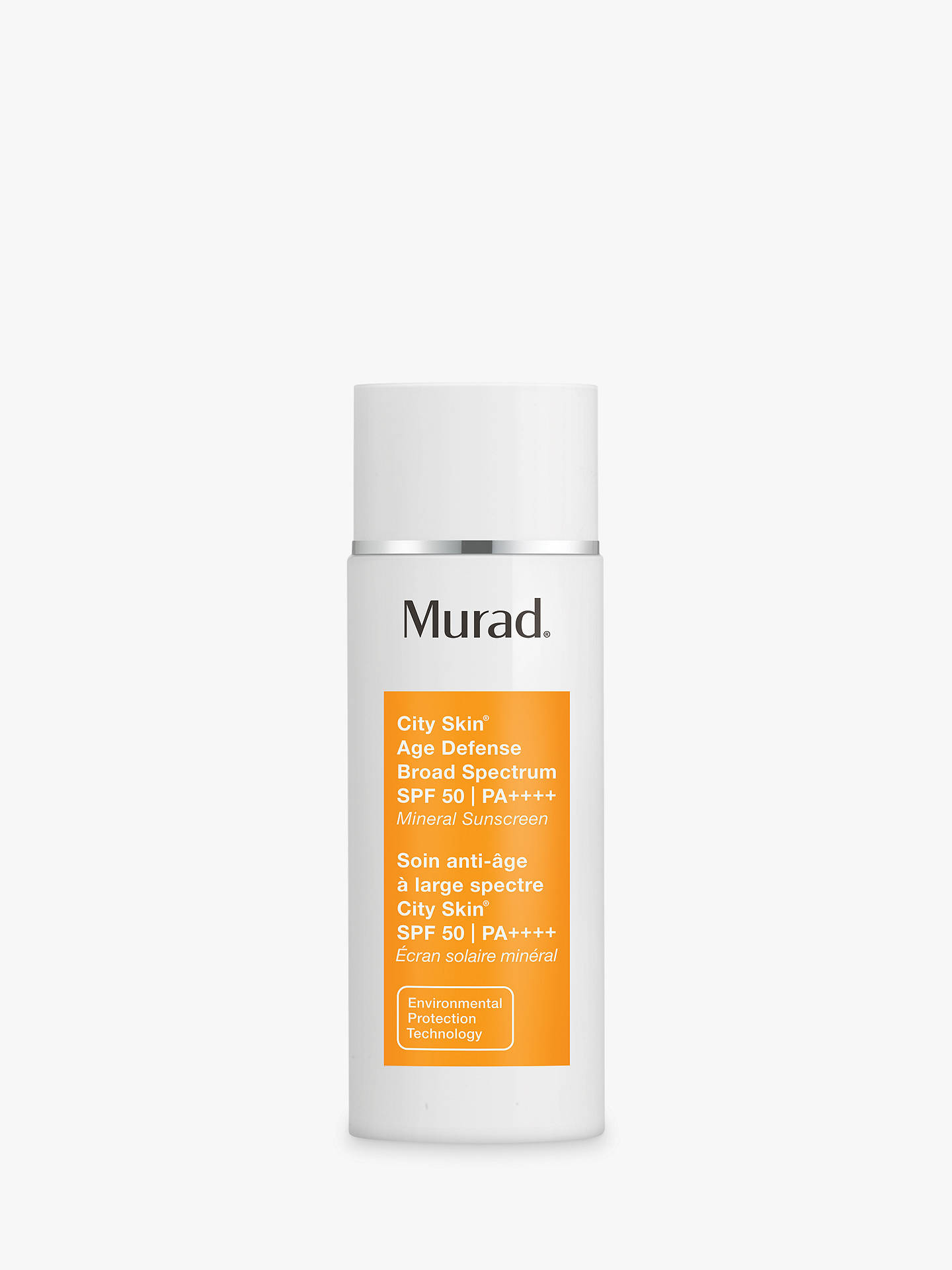 BuyMurad City Skin Age Defence Broad Spectrum SPF50 I PA++++ Online at johnlewis.com