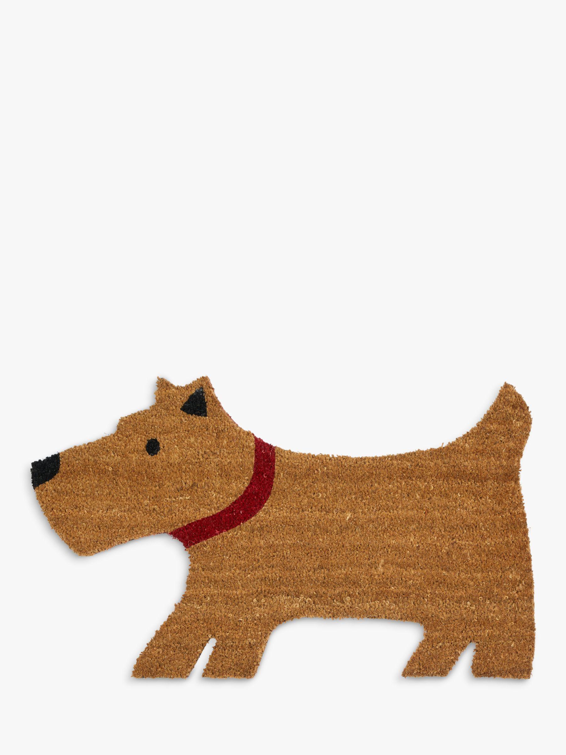 Lewis The Scottie Dog Door Mat