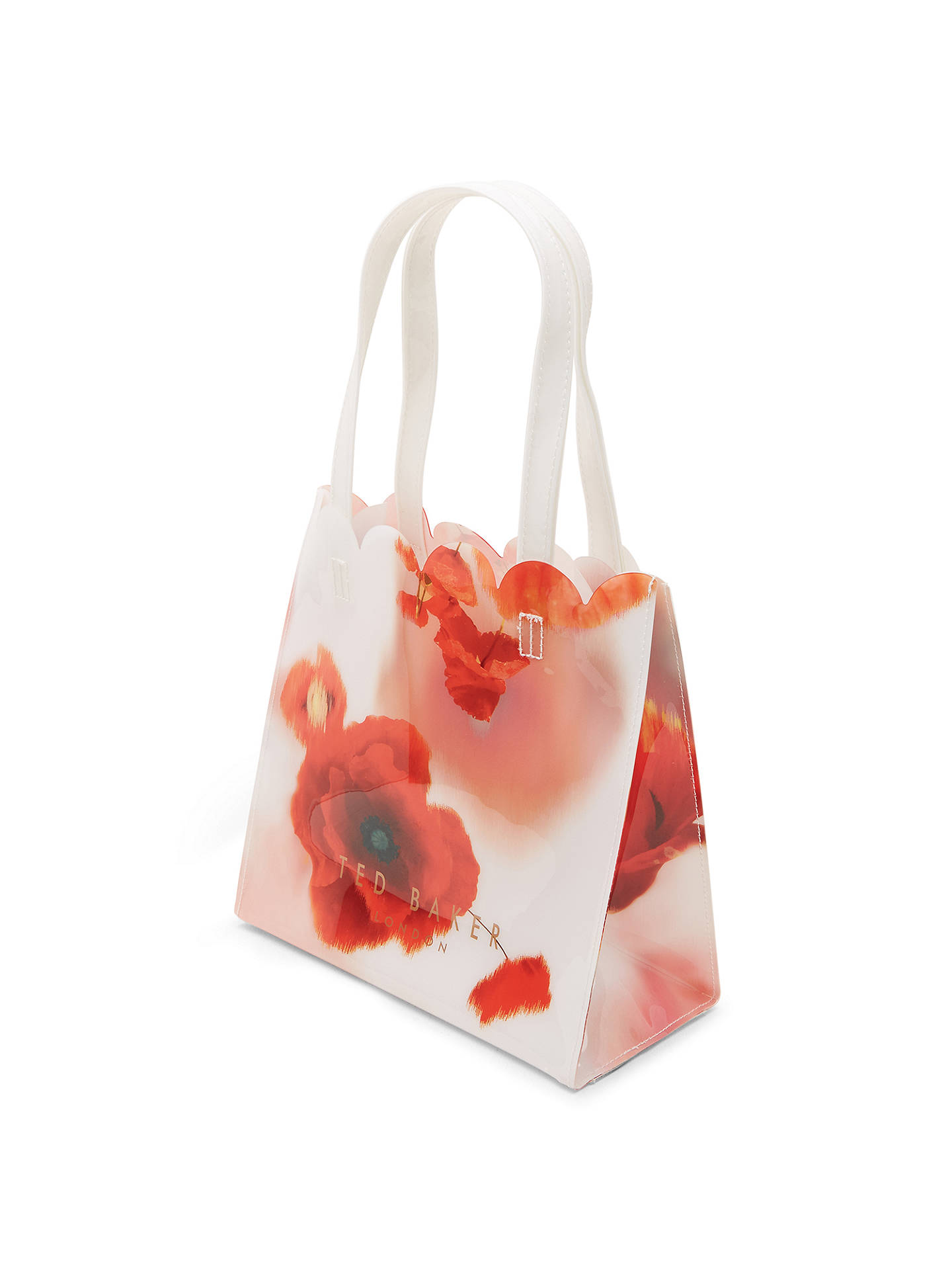 Red Playful Poppy Johnlewis Icon Comprado Mid Icon Bag Baker Online en Melacon xqpEWnZwg8