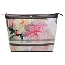 Buy Ted Baker Magda Large Wash Bag, Baby Pink Online at johnlewis.com