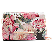 Buy Ted Baker Paiige Painted Posie Across Body Bag, Baby Pink Online at johnlewis.com