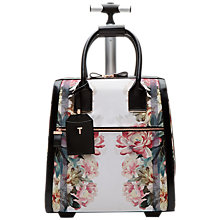 Buy Ted Baker Naoimie Painted Posie Travel Bag, Baby Pink Online at johnlewis.com
