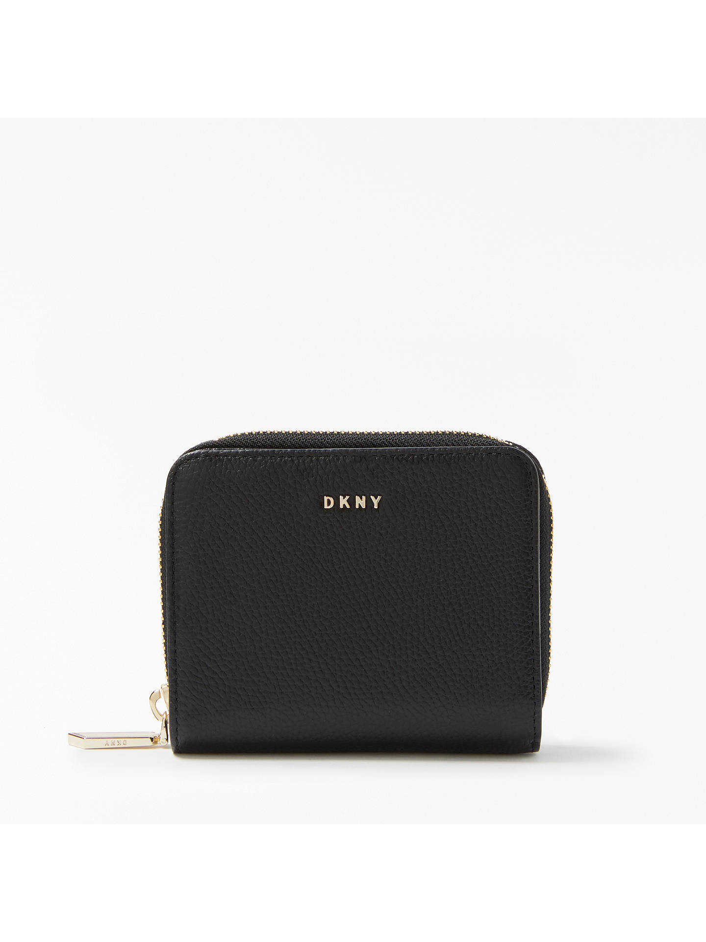 2d8ecbe2b89 BuyDKNY Chelsea Pebbled Leather Carryall Purse, Black Online at  johnlewis.com ...