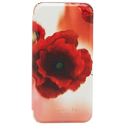 Image of Ted Baker Carleto iPhone Mirror Case, Mid Red