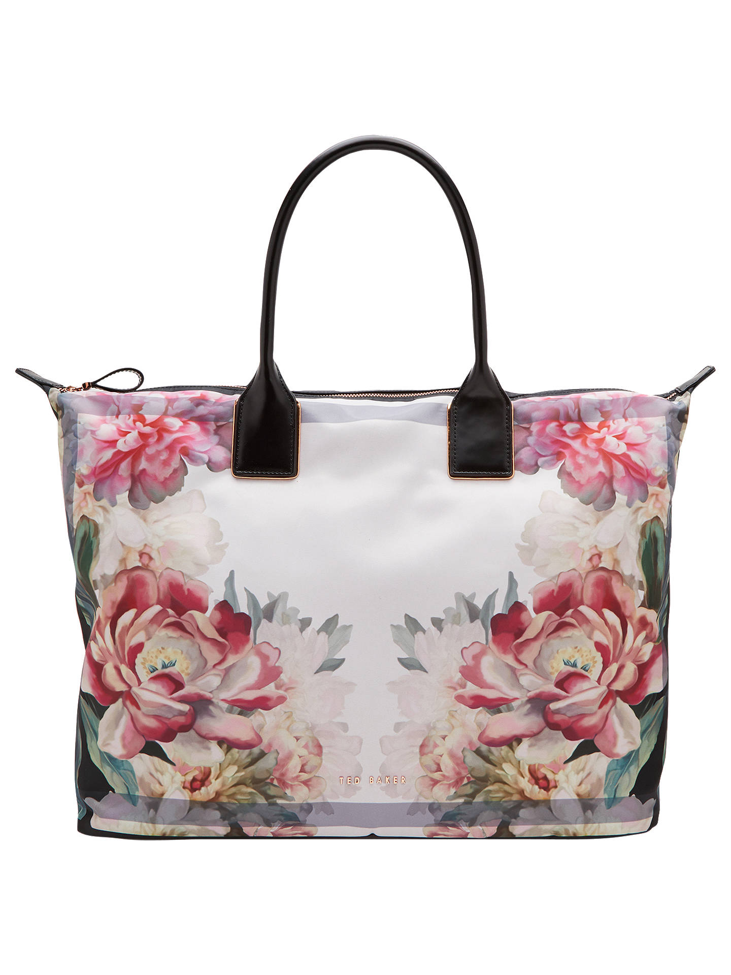 252473294a43 Ted Baker Nessie Painted Posie Large Tote Bag