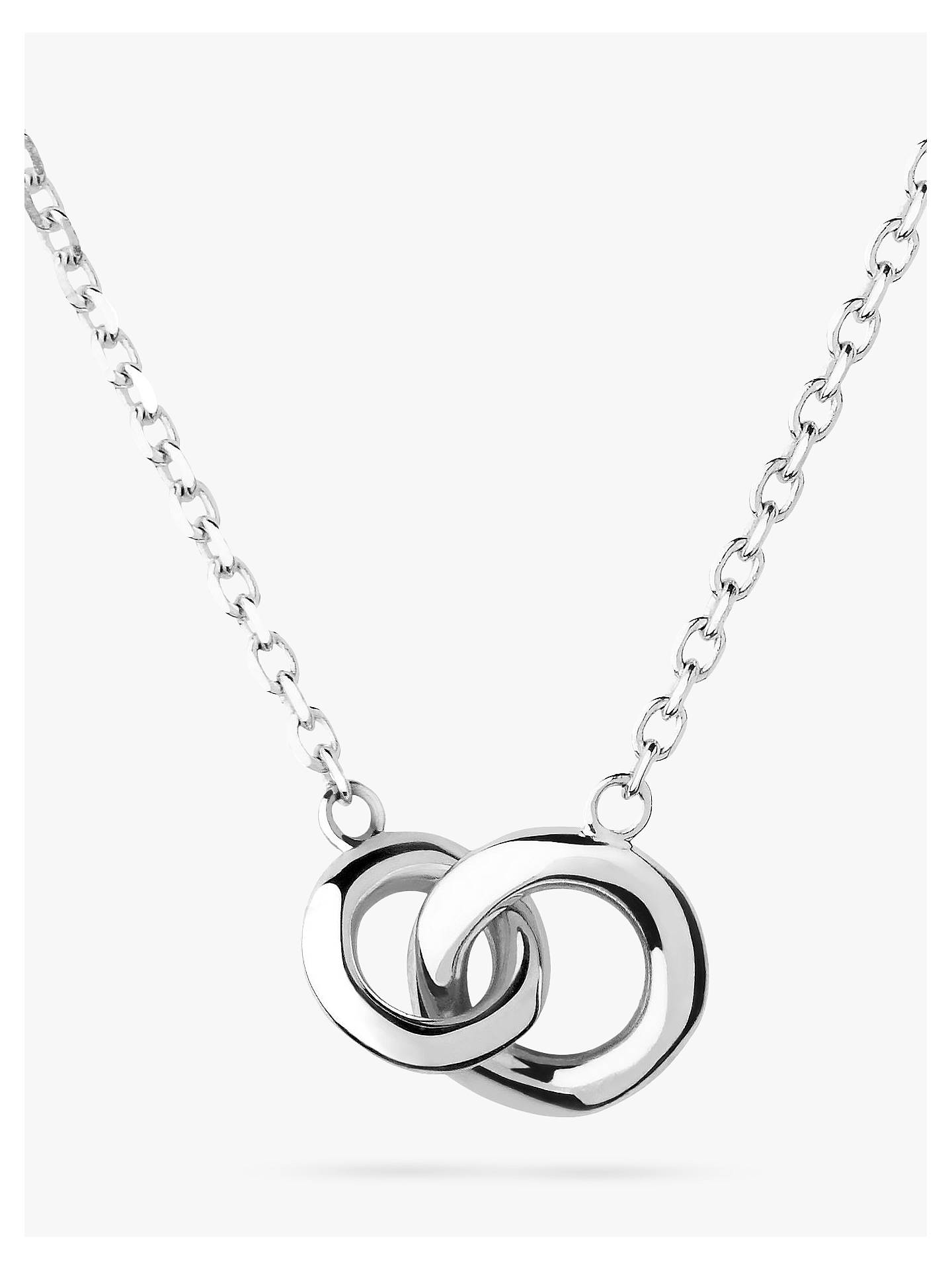 BuyLinks of London 20/20 Sterling Silver Mini Necklace, Silver Online at johnlewis.com