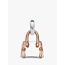 Buy Links of London A Day Out Shopping Handbag Charm, Silver/Rose Gold Online at johnlewis.com