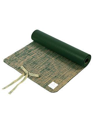 Manuka Life Linen 5mm Yoga Mat Green At John Lewis Amp Partners