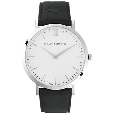 Larsson & Jennings Unisex Lugano Leather Strap Watch