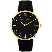 Buy Larsson & Jennings Unisex Lugano Leather Strap Watch Online at johnlewis.com