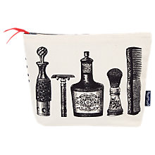 Buy Chase and Wonder Aftershave Wash Bag, White Online at johnlewis.com