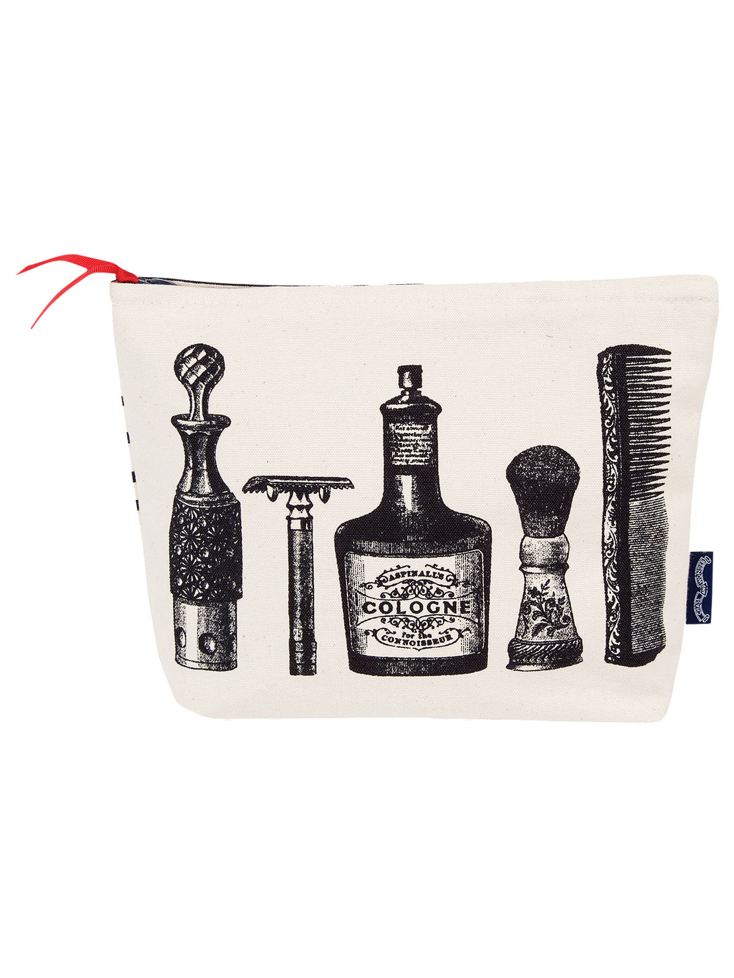 BuyChase and Wonder Aftershave Wash Bag, White Online at johnlewis.com