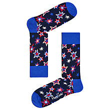 Buy Happy Socks Bang Bang Socks, One Size, Navy Online at johnlewis.com