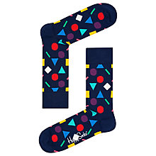 Buy Happy Socks Play Socks, One Size, Navy/Multi Online at johnlewis.com