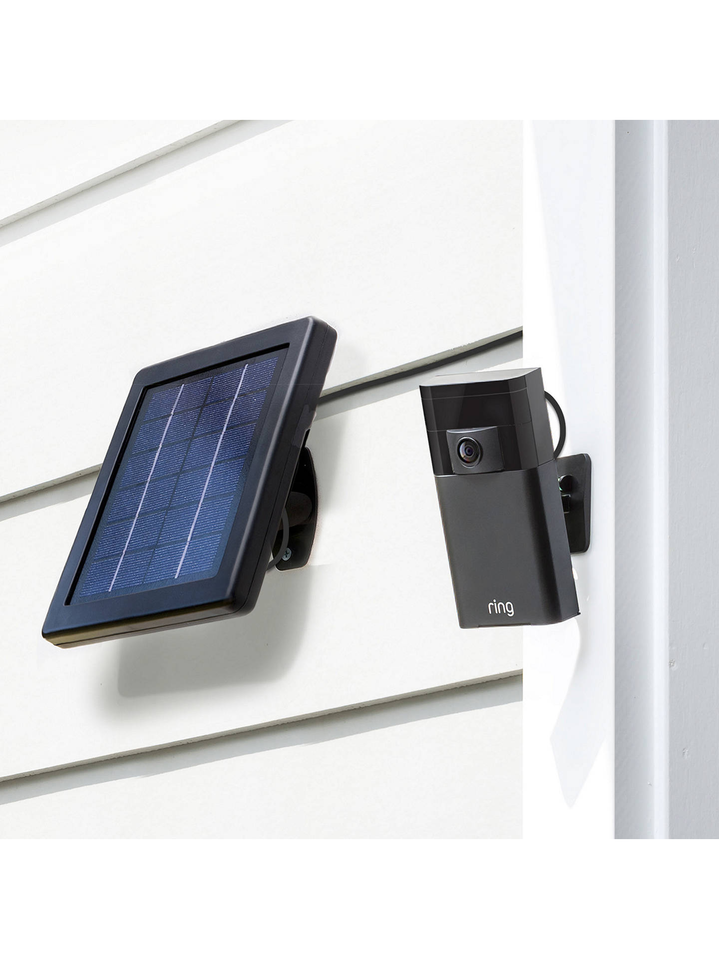 Buy Ring Solar Panel for Ring Stick Up Cam Online at johnlewis.com