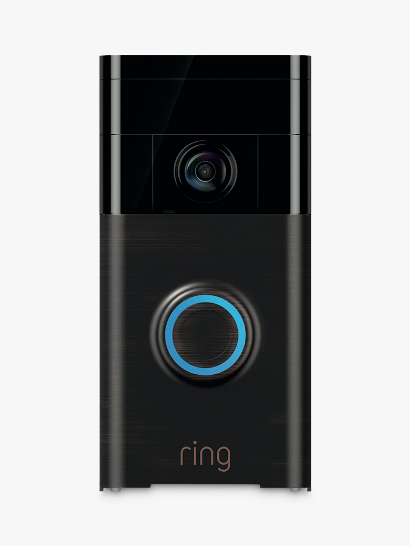 Ring Smart Video Doorbell with Built-in Wi-Fi & Camera, Venetian Bronze