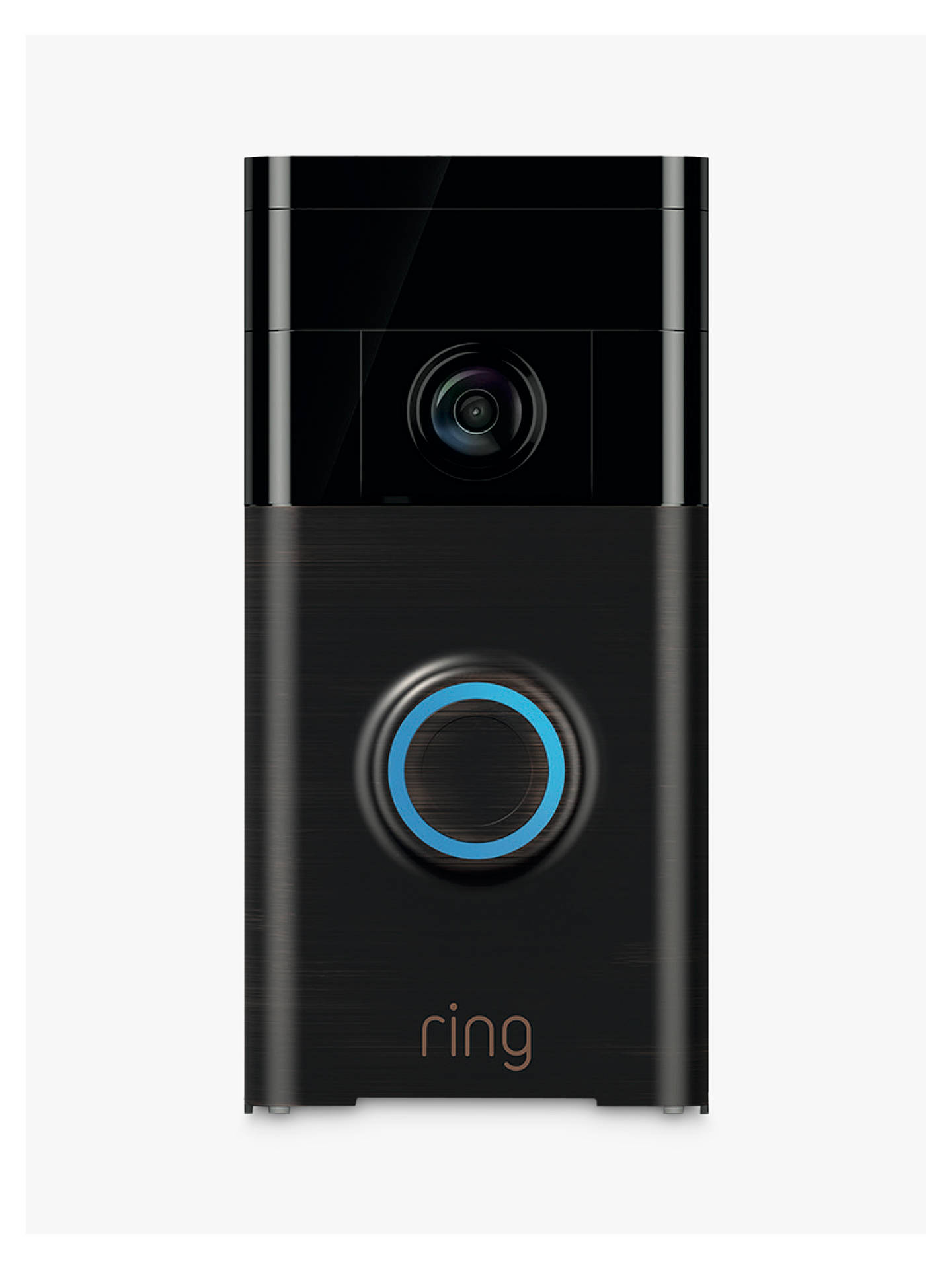 BuyRing Smart Video Doorbell with Built-in Wi-Fi & Camera, Venetian Bronze Online at johnlewis.com
