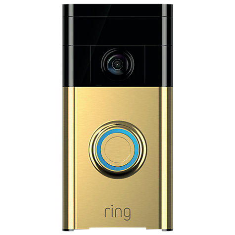 Buy Ring Smart Video Doorbell with Built in Wi Fi & Camera