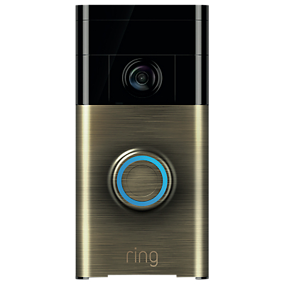 ring smart video doorbell with built in wi fi camera. Black Bedroom Furniture Sets. Home Design Ideas