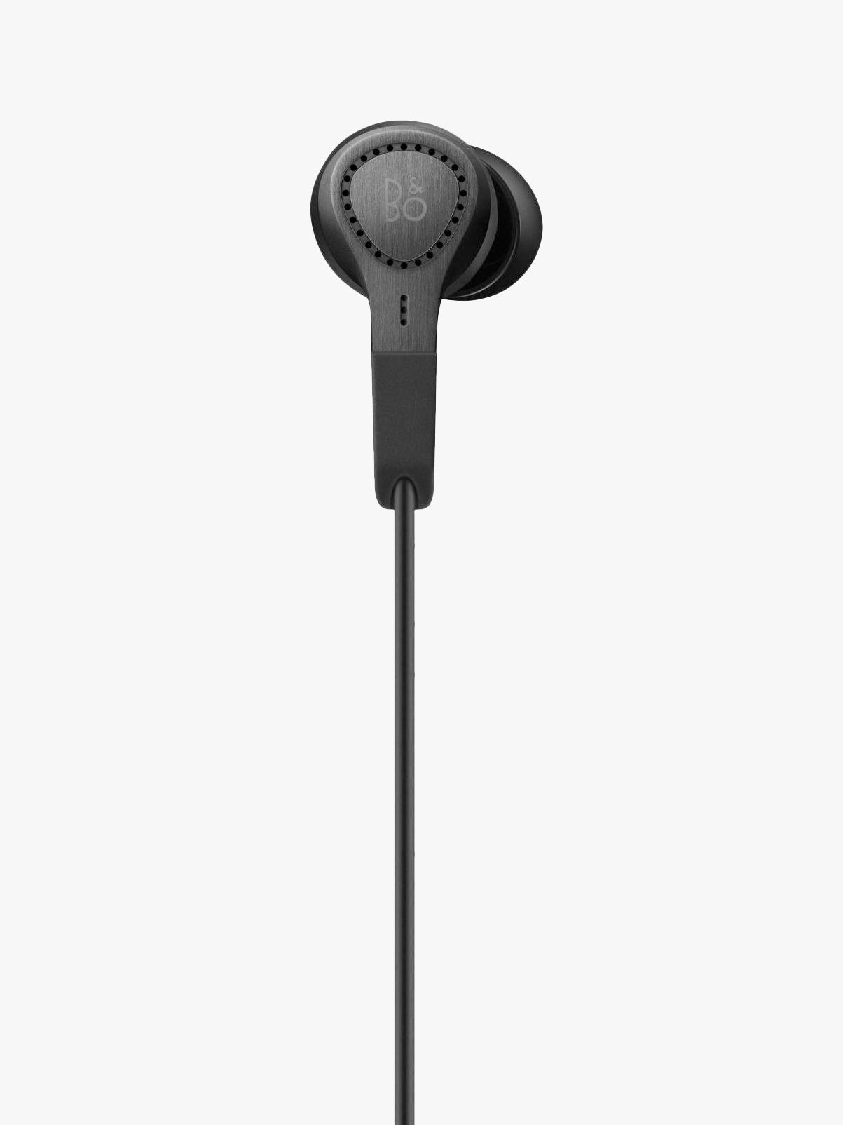 142cf549a5c Bang & Olufsen Beoplay E4 Active Noise Cancelling In-Ear Headphones with  Inline Mic/Remote for iOS Devices, Black at John Lewis & Partners