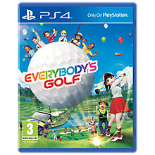 Buy Everybody's Golf 7, PS4 Online at johnlewis.com