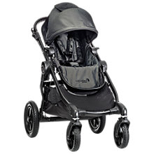 Buy Baby Jogger City Select Pushchair, Charcoal Denim Online at johnlewis.com