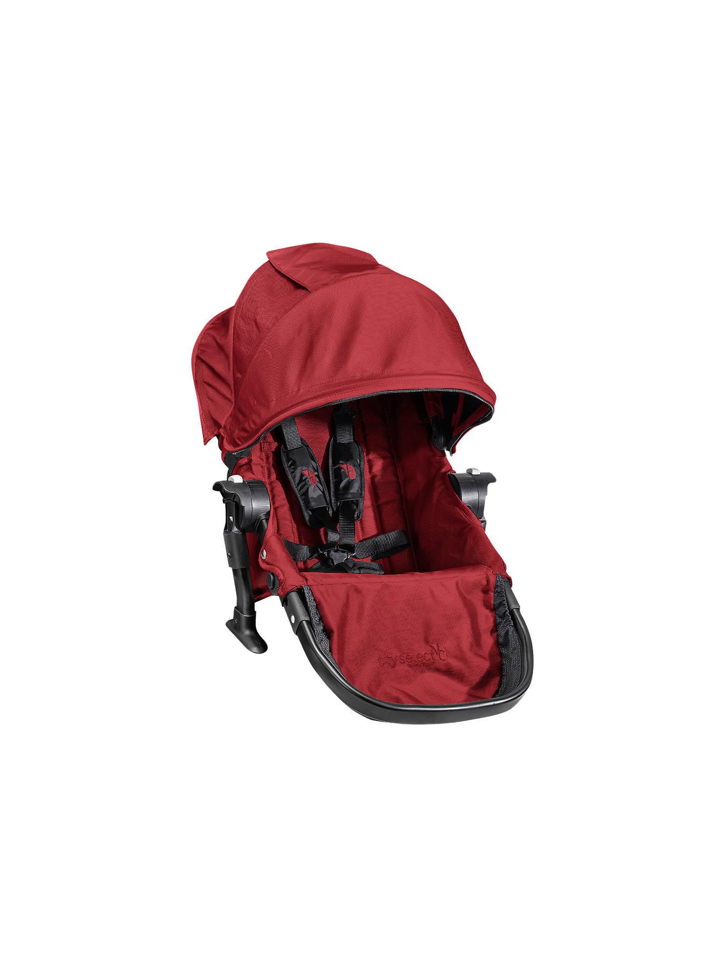 Baby Jogger City Select Second Seat Kit Garnet At John Lewis Partners